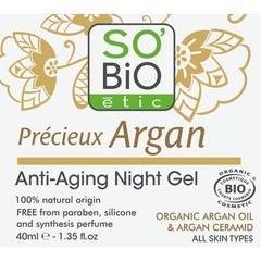 So Bio Etic Argan AA night gel (40 ml)