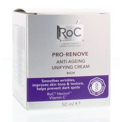 ROC Pro renove rich anti age unifying creme (50 ml)