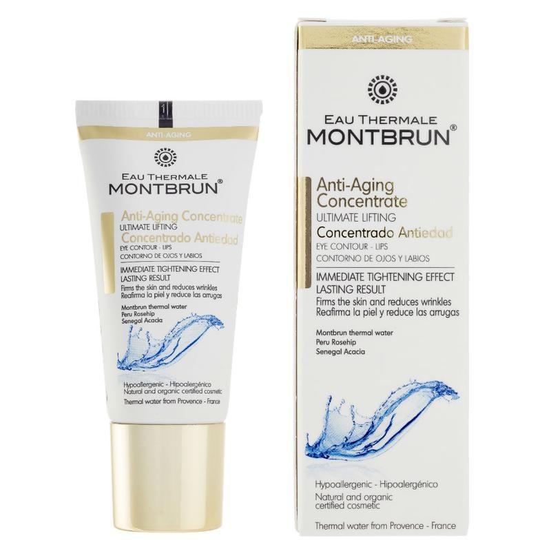 Montbrun Montbrun Anti-ageing oog- en lip contour creme bio (20 ml)