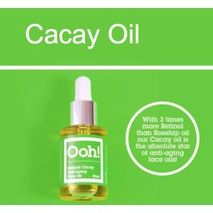 Ooh! Cacay anti-aging face oil vegan (30 ml)