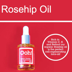 Ooh! Rosehip face oil vegan (30 ml)