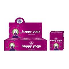 Green Tree Kegelwierook happy yoga (10 stuks)