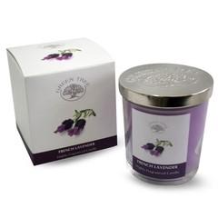 Green Tree Geurkaars french lavender (200 gram)