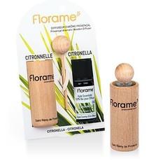 Florame Verstuiver + citronella etherische olie bio (1 set)