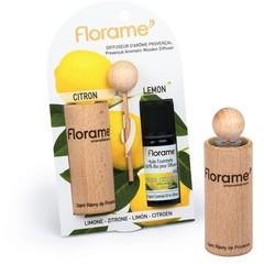 Florame Verstuiver + munt citroen etherische olie bio (1 set)