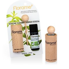Florame Verstuiver + verbena etherische olie bio (1 set)