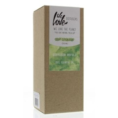 We Love Diffuser light lemongrass refill (200 ml)