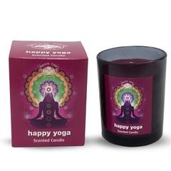 Green Tree Geurkaars happy yoga (210 gram)