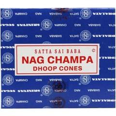Satya Kegelwierook satya nag champa (12 stuks)