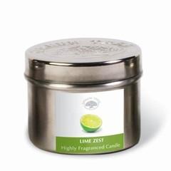 Green Tree Geurkaars lime zest (150 gram)