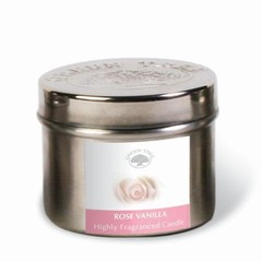Green Tree Geurkaars rose vanilla (150 gram)
