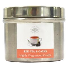 Green Tree Geurkaars red tea & casis (150 gram)