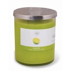 Green Tree Geurkaars lime zest (600 gram)