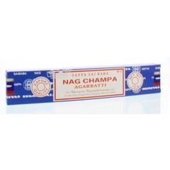 Nag Champa Wierook nag champa agarbatti (15 gram)