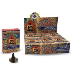 Green Tree Kegelwierook buddhist tantra (12 stuks)