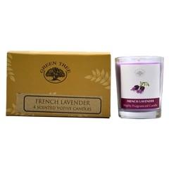 Green Tree Geurkaars french lavender (55 gram)