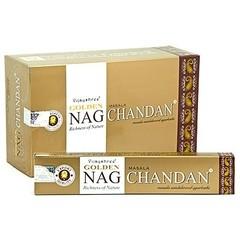 Vijayshree Wierook golden nag chandan stokjes (14 stuks)