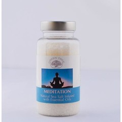 Green Tree Aromabrander zeezout meditation (180 gram)