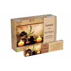 Goloka Wierook goloka aromatherapy nutmeg (15 gram)