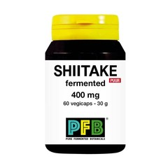 SNP Shiitake fermented 400mg puur (60 vcaps)