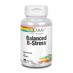 Solaray Vitamine B complex & vitamine C (100 vcaps)