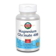 KAL Magnesium glycinate 400 mg (90 tabletten)