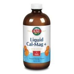KAL Calcium Magnesium Plus vloeibaar sinaasappel (473 ml)