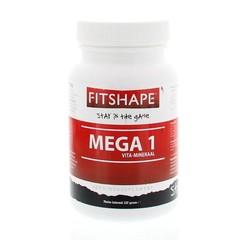 Fitshape Mega 1 vitaminen/mineralen (60 tabletten)
