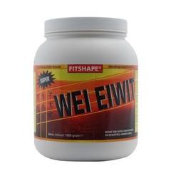 Fitshape Wei eiwit vanille (1 kilogram)