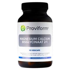 Proviform Magnesium calcium bisglycinaat 2:1 & D3 (60 vcaps)