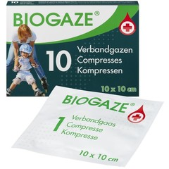 Biogaze Biogaze 10 x 10 cm (10 stuks)