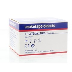 Leukotape Leukotape 10 m x 3.75 cm wit (1 stuks)
