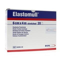 Elastomull Elastomull 6 cm 2095-4M plastic verpakt (20 rollen)