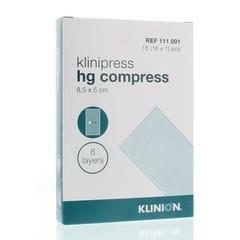 Klinion Kompres 1/16 8LS111001 (16 stuks)