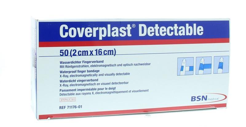 Coverplast Coverplast Detectable 2 cm x 16 cm (50 stuks)