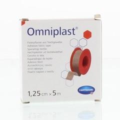 Omniplast Hechtpleister 1.25 cm x 5 m (1 stuks)