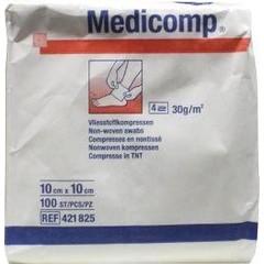 Medicomp Non woven kompres 10 x 10 (100 stuks)