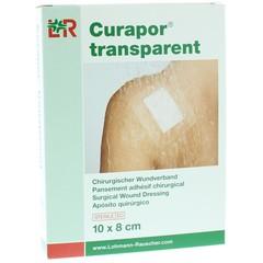 Curapor Transparant 10 x 8 cm steriel (5 stuks)