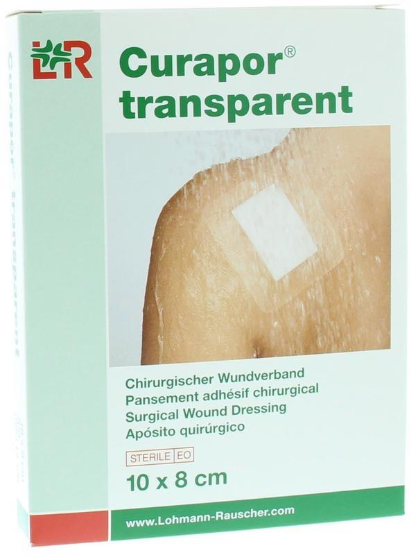 Curapor Curapor Transparant 10 x 8 cm steriel (5 stuks)