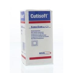 Cutisoft Vlieskompres niet steriel 5 cm x 5 cm (100 stuks)