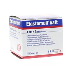 Elastomull Elastomull haft 4 m x 4 cm 45470 (1 stuks)