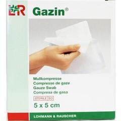 Gazin Gazin gaaskompres 5 x 5 cm steriel 5 x 2 (10 stuks)