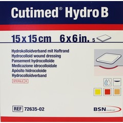Cutimed Hydro B 15 x 15 cm (5 stuks)