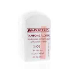 Alkotip Alcoholdoekjes alkotip dispenser (155 stuks)