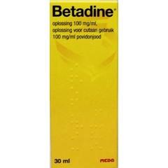 Betadine Jodium oplossing (30 ml)