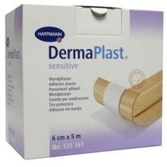 Dermaplast Sensitive wondpleister 5 m x 6 cm (1 stuks)