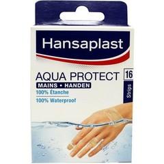 Hansaplast Aqua protect strips speciaal voor handen (16 stuks)