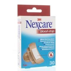 Nexcare Bloed stop assorti (30 stuks)