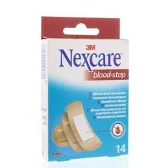 Nexcare Bloed stop assorti (14 stuks)