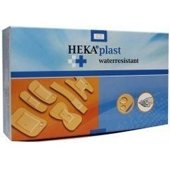 Hekaplast Pleister water resistent 50 x 76 (50 stuks)